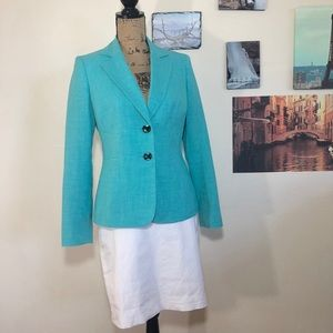 Jones Studio Separates mint green blazer, Sz. 4